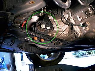 Protege5 Front Motor Mount